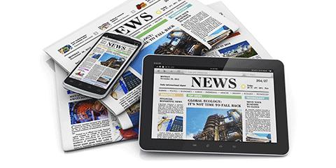 Perkembangan media cetak